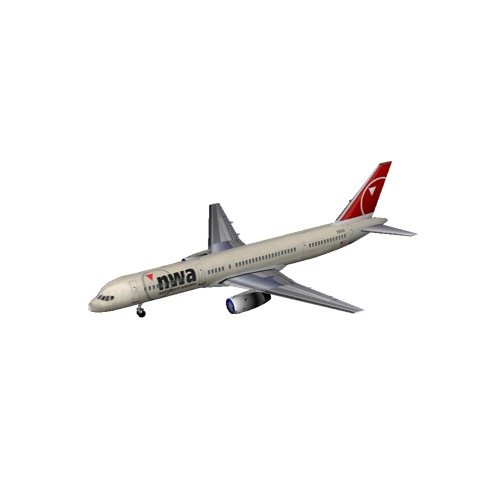 Screenshot of B757-300 Northwest Airlines