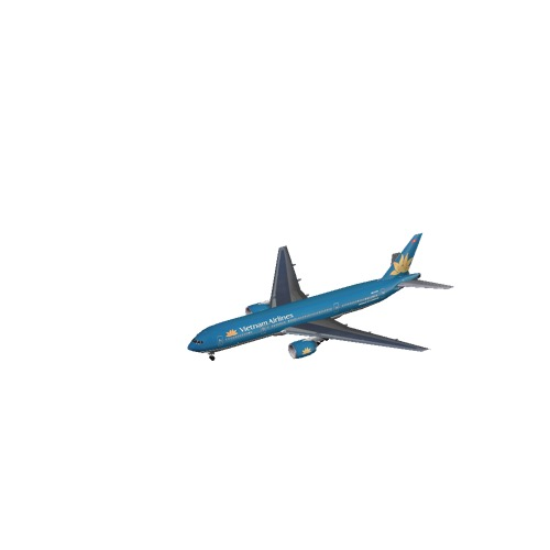 Screenshot of B777-200 Vietnam Airlines
