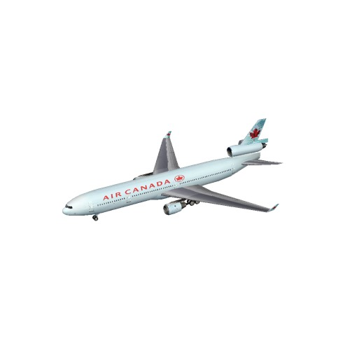 Screenshot of MD11 Air Canada
