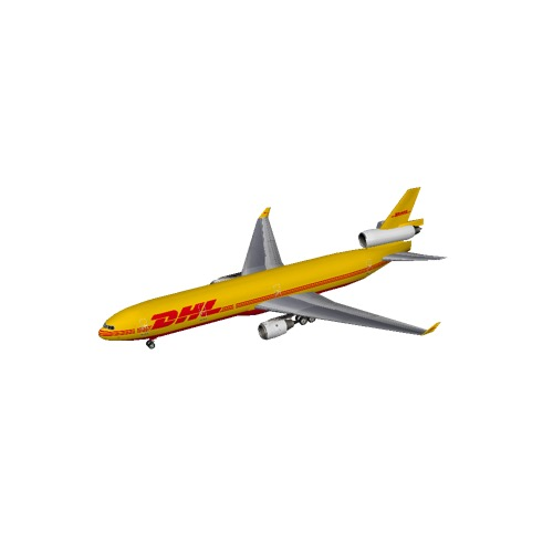 Screenshot of MD11 DHL