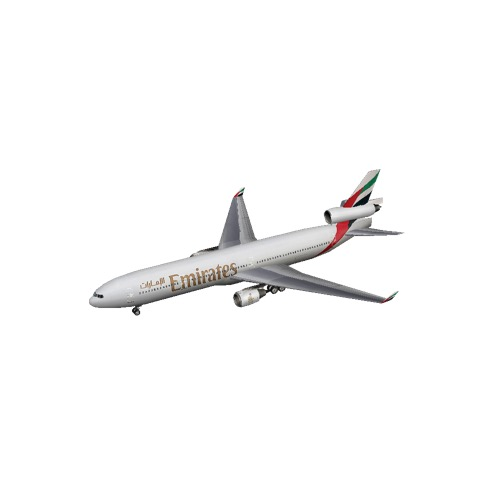 Screenshot of MD11 Emirates