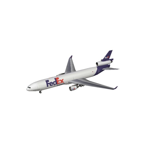Screenshot of MD11 FedEx