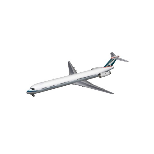 Screenshot of MD90-50 Cathay Pacific