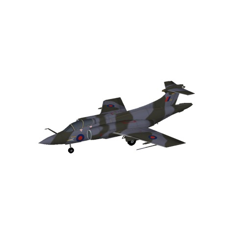 Screenshot of Blackburn Buccanneer S2, RAF Camo