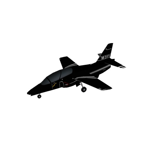 Screenshot of Aermacchi M-311, Black