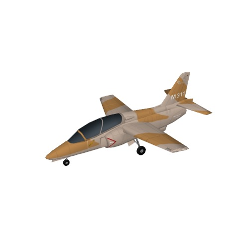 Screenshot of Aermacchi M-311, Desert