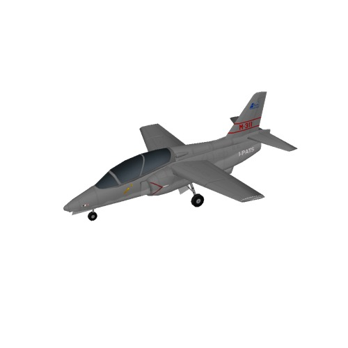 Screenshot of Aermacchi M-311, Grey