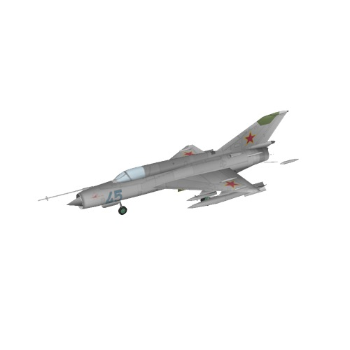 Screenshot of MiG-21, Soviet