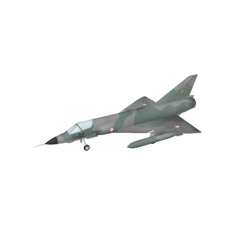 Screenshot of Mirage IIIE, French Air Force