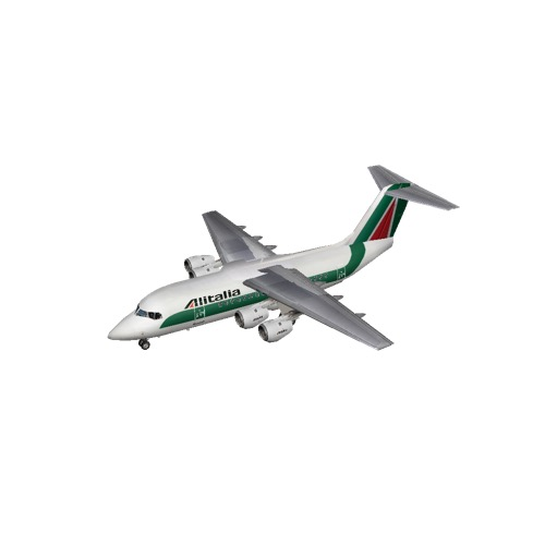 Screenshot of BAE Avro RJ70 Alitalia