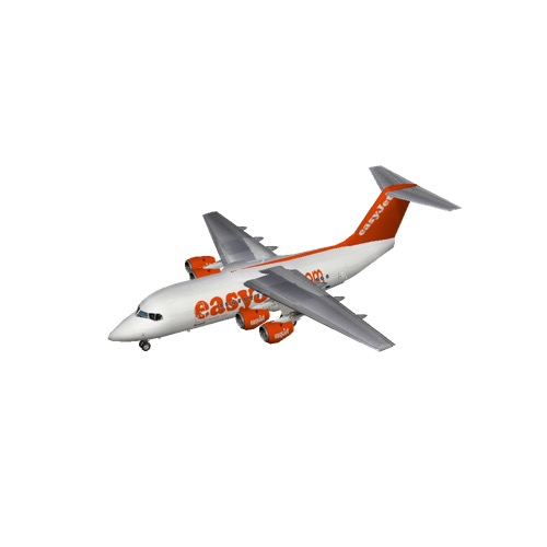 Screenshot of BAE Avro RJ70 easyJet
