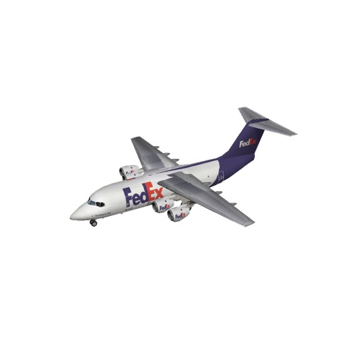Screenshot of BAE Avro RJ70 FedEx