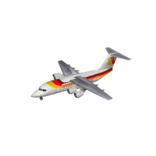 Screenshot of BAE Avro RJ70 Iberia