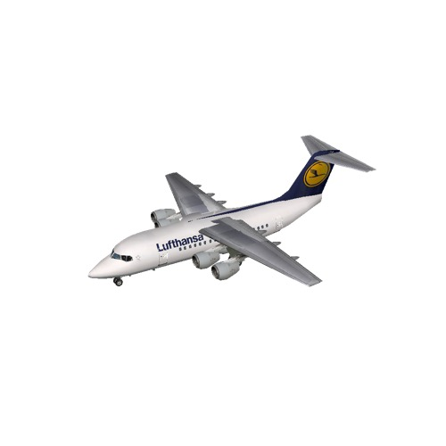 Screenshot of BAE Avro RJ70 Lufthansa