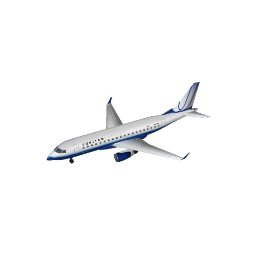 Screenshot of Embraer 170 United Express