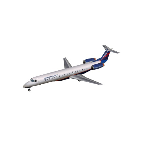 Screenshot of Embraer ERJ 145 Aeroflot