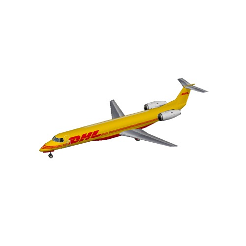 Screenshot of Embraer ERJ 145 DHL