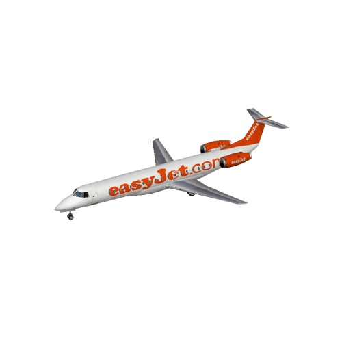 Screenshot of Embraer ERJ 145 easyJet