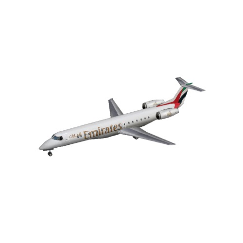 Screenshot of Embraer ERJ 145 Emirates