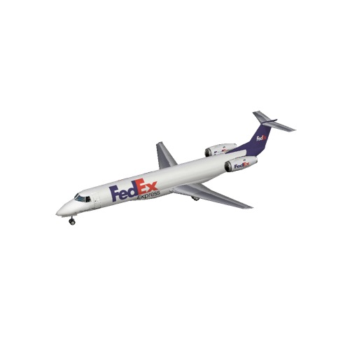 Screenshot of Embraer ERJ 145 FedEx