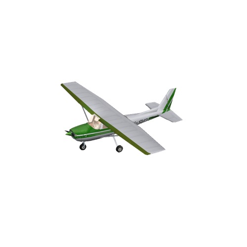 Screenshot of Cessna 150 Green Variant 1