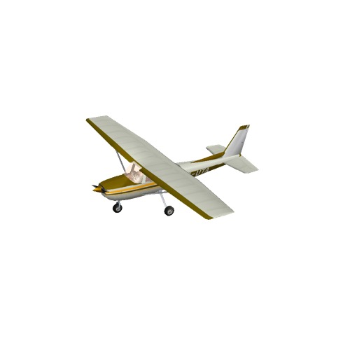 Screenshot of Cessna 150 Yellow Variant 4