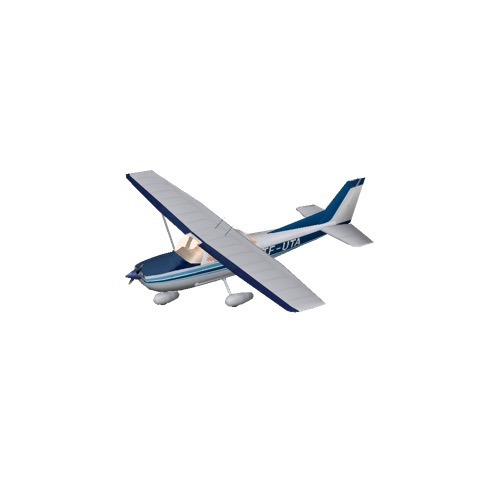 Screenshot of Cessna 172 Blue Variant 4