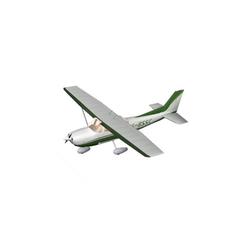 Screenshot of Cessna 172 Green Variant 2
