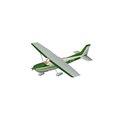 Screenshot of Cessna 172 Green Variant 4