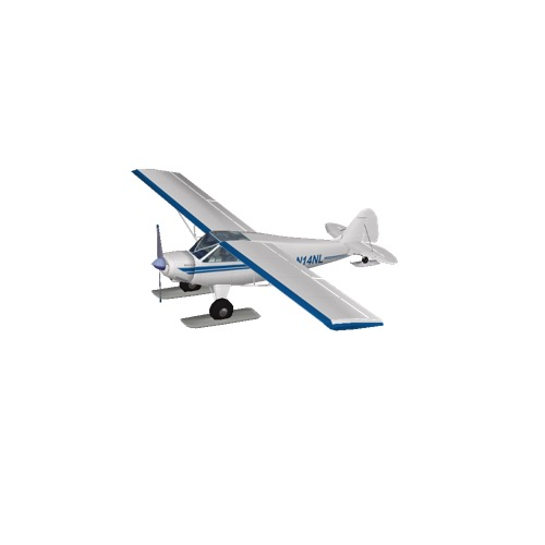 Screenshot of Husky A-1A (white, skis)