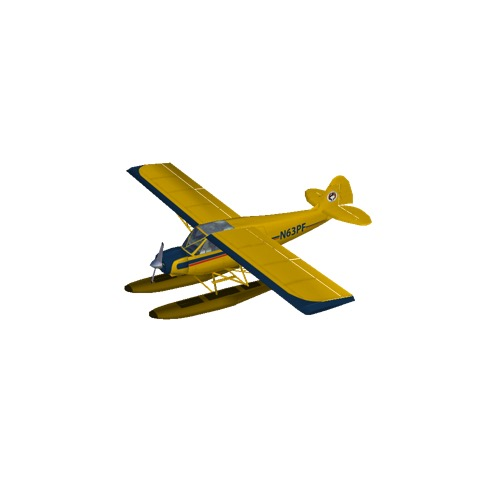Screenshot of Husky A-1A (yellow, floats)