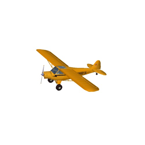Screenshot of Piper PA18 Super Cub
