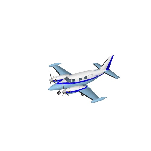 Screenshot of Piper PA31 Cheyenne II