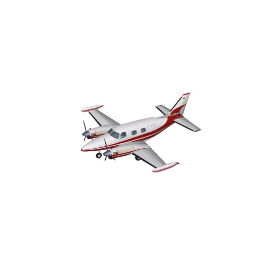 Screenshot of Piper PA31 Cheyenne II (STMA paint contest winner 2006)