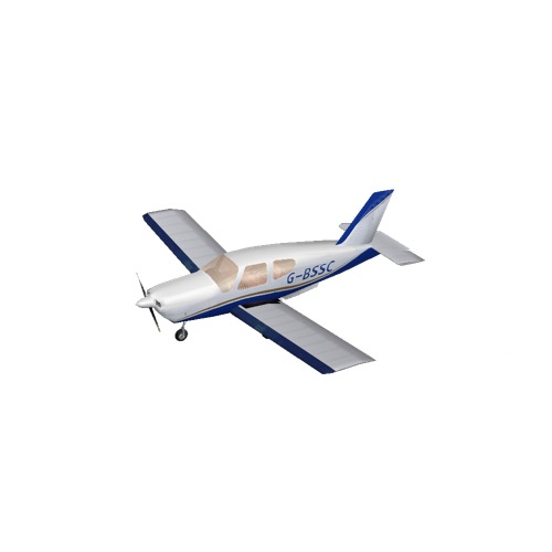 Screenshot of Socata TB20 Blue Variant 2