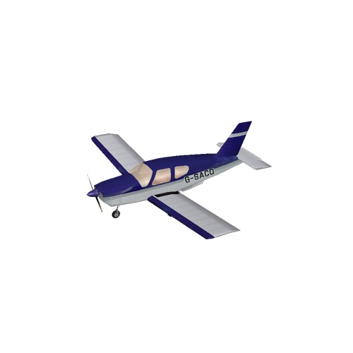 Screenshot of Socata TB20 Blue Variant 3