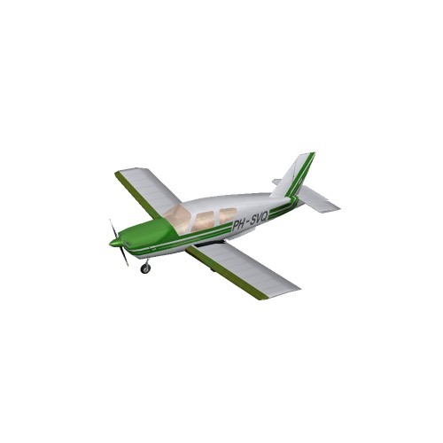 Screenshot of Socata TB20 Green Variant 1