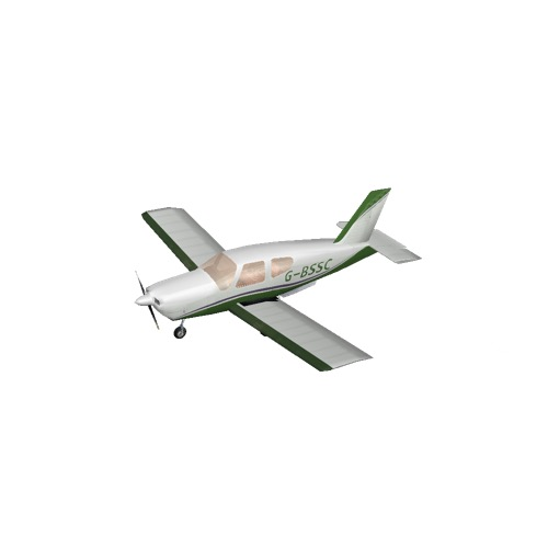 Screenshot of Socata TB20 Green Variant 2