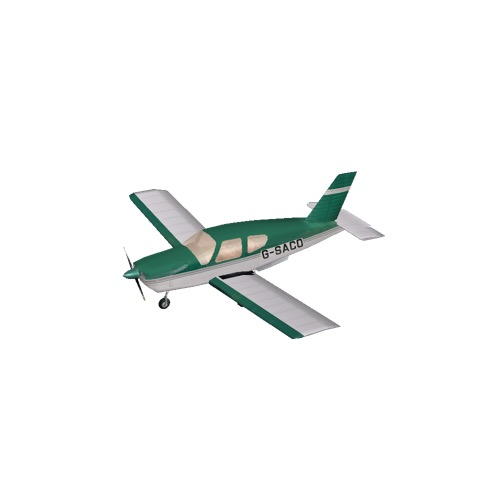 Screenshot of Socata TB20 Green Variant 3