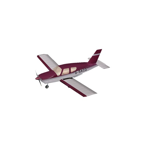Screenshot of Socata TB20 Red Variant 3