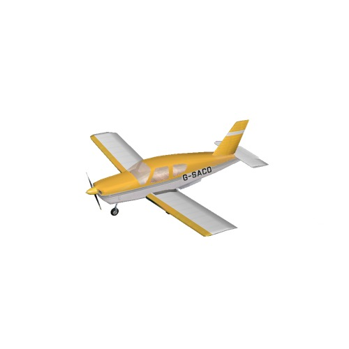 Screenshot of Socata TB20 Yellow Variant 3