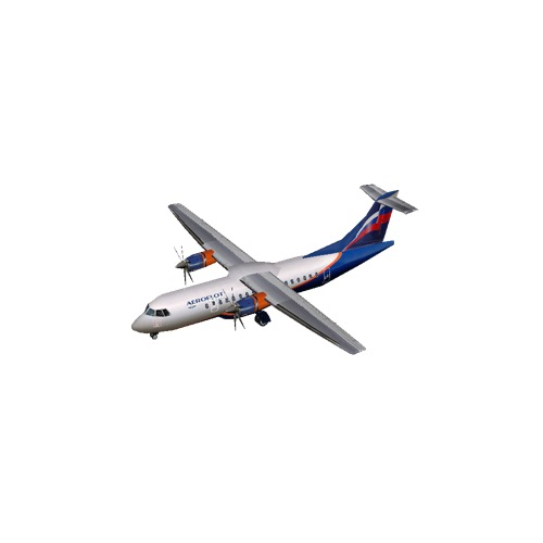 Screenshot of ATR 42 Aeroflot