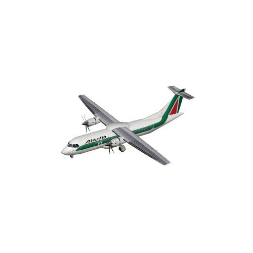 Screenshot of ATR 42 Alitalia