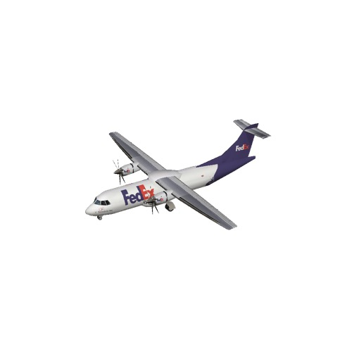 Screenshot of ATR 42 FedEx