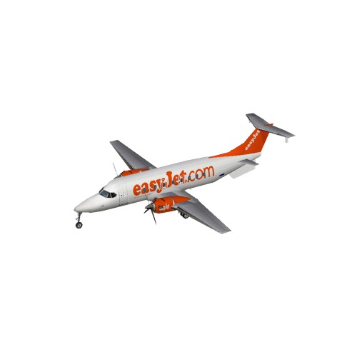 Screenshot of Beech B1900 easyJet