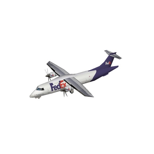 Screenshot of Dornier D328 FedEx