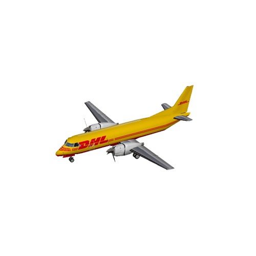 Screenshot of Saab 340 DHL
