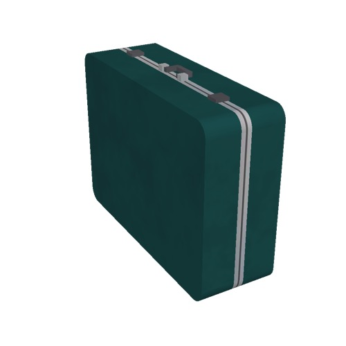 Screenshot of Luggage, green, upright