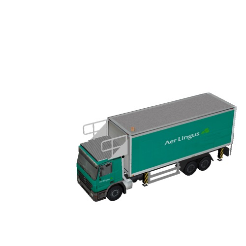 Screenshot of Catering Loader Truck Large, Aer Lingus, stowed