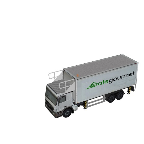 Screenshot of Catering Loader Truck Large, Gate Gourmet, stowed